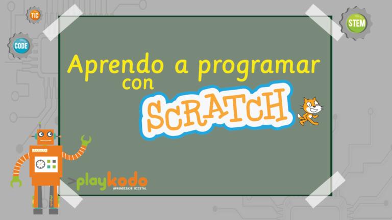 aprendo a programar con scratch