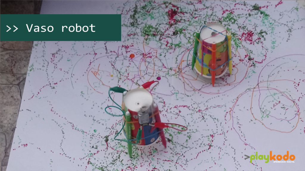 Robot de vaso
